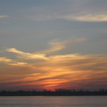 Ноябрь, рассвет, Волгоград 2010