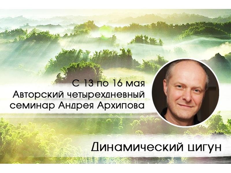 Динамический цигун.  Авторский семинар Андрея Архипова.
