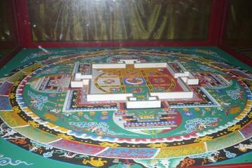 Мандала в буддистком храме