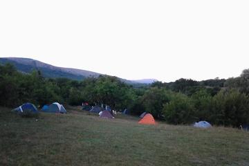 лагерь, вид с боку