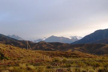 Еще горы Иссык-Куля...