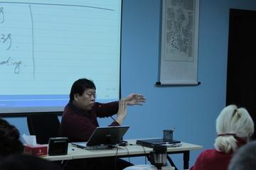 Учитель Сюй Минтан объясняет как делать диагностику по пульсу