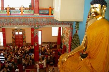 Будда и зал