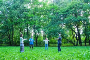 Практика Большого Дерева в парке Дубки (2015 г.)