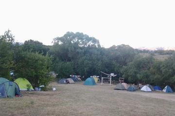 лагерь утром