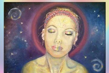 Медитация Аура - я рисую