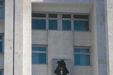 """Хаб. """"На гербі Данії зображено ведмедя, який в одній руці тримає серп, а в іншій балалайку""""."""