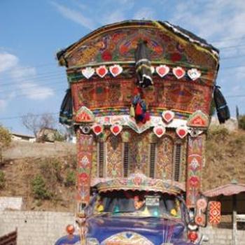 Очередной бессмысленный пост от Кларка - пакистанское декоративно-прикладное искусство