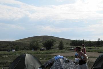 """Из палаточного лагеря гора """"Шаманка"""""""