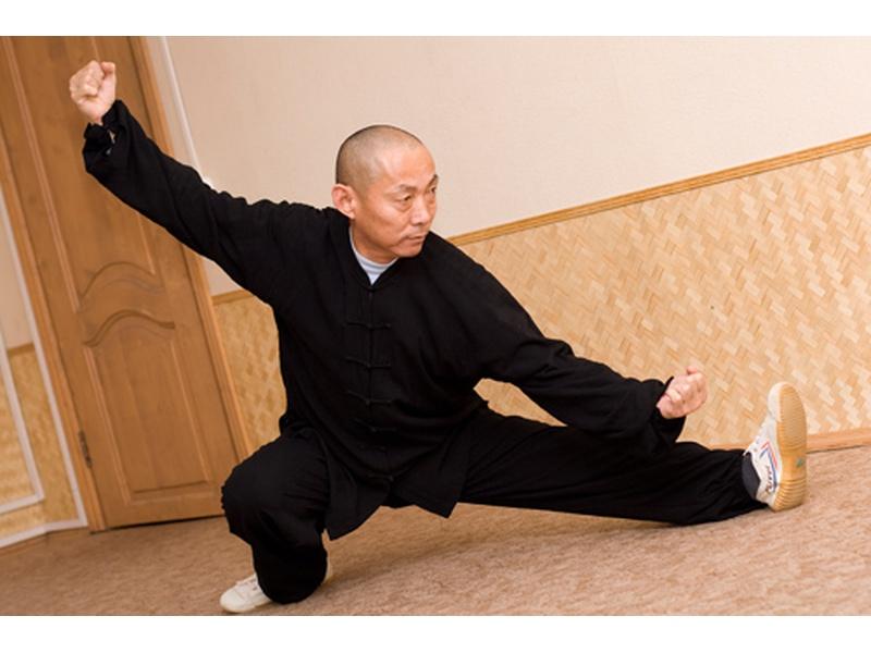 Встреча с Мастером из монастыря Шаолинь Юй Гоцяном