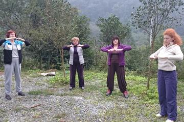 Практикуем в горах