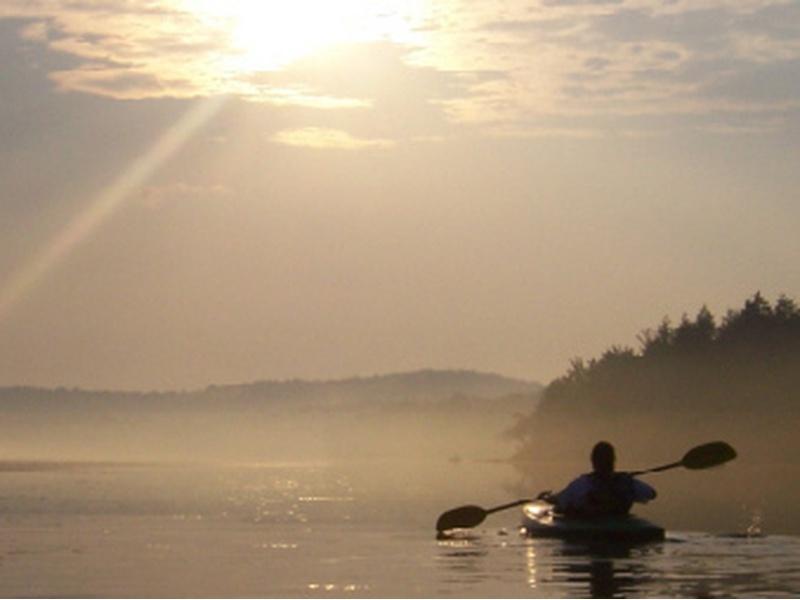 Доверие - лодка и весла практикующего