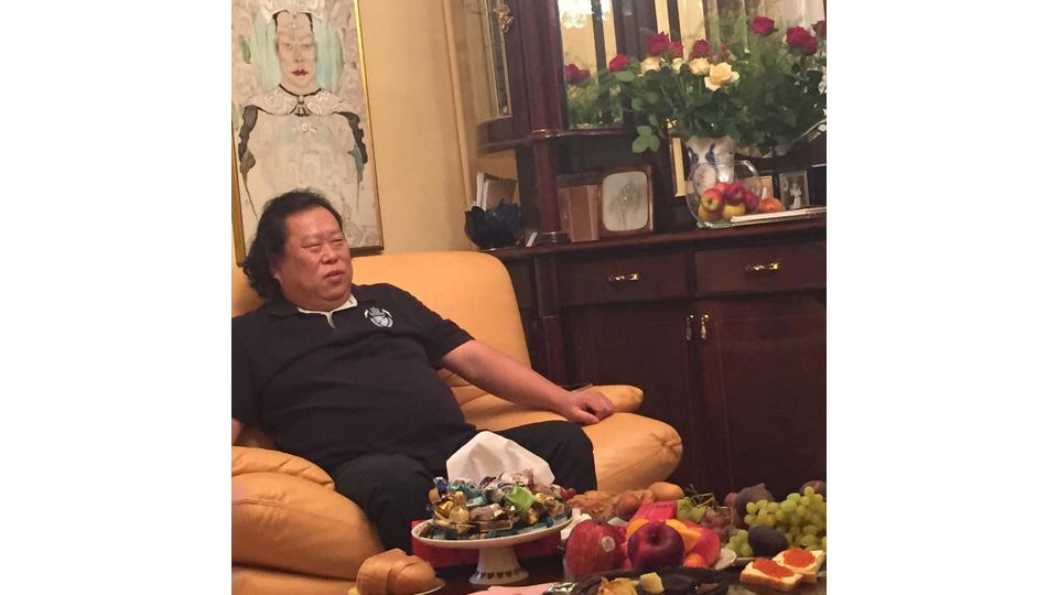 """8 сентября 2015 года Мастер Сюи Минтан посетил центр """"Москва-Цигун"""" и провел медитацию"""