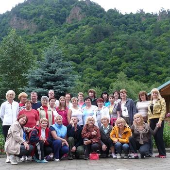 Участники Аксаутского ретрита-2010