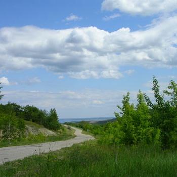 Пейзажи на Волге под г. Саратовым