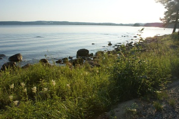 Тишина и спокойствие озера