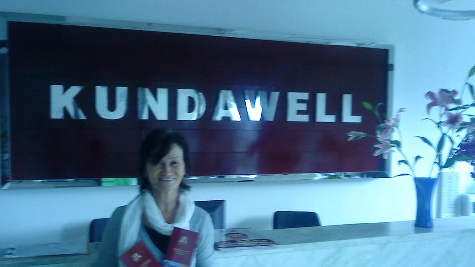 На время курсов по имидж-медицине в Институте Кундавелл