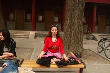 """Медитация в храме """"Белые Облака"""""""
