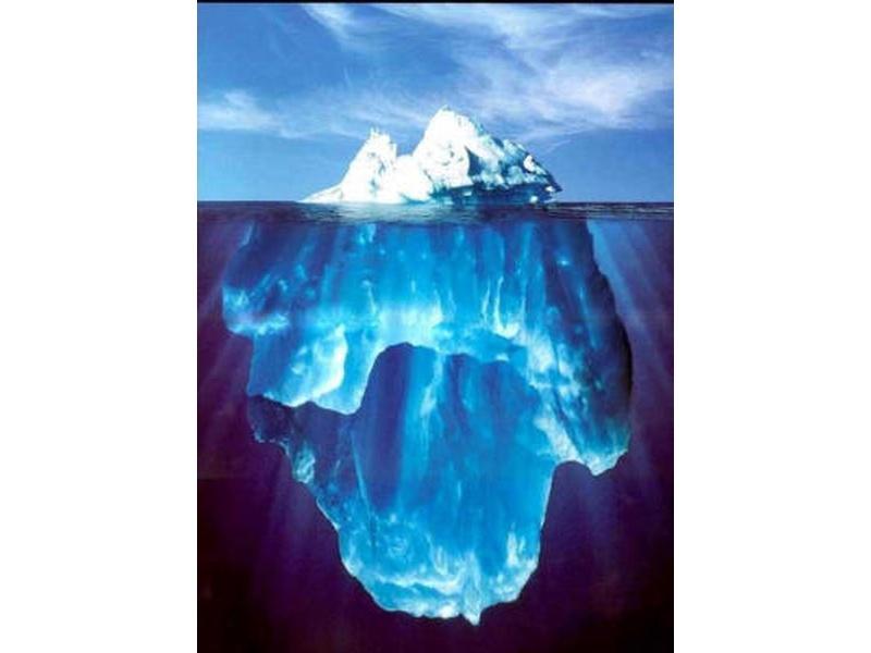 Айсберг ледника Мерц