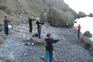практика у моря